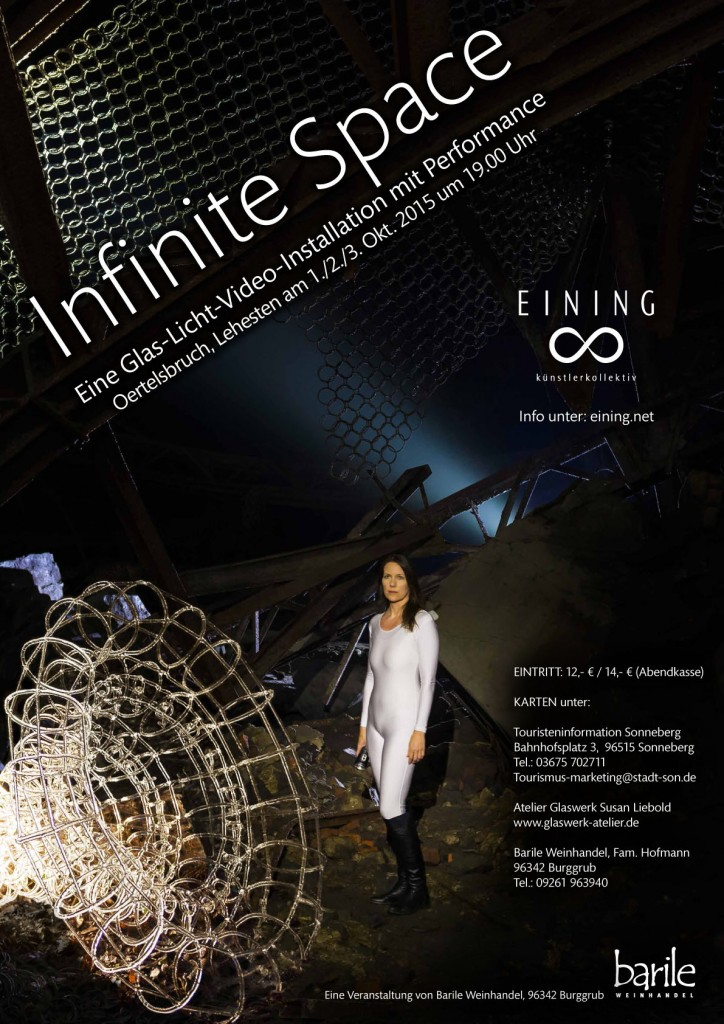 Infinite Space - EINING - Plakat