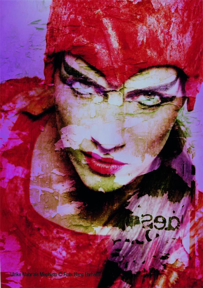 2_Ulrike Mahr als Mephisto ©Foto- Hans Ehrhardt